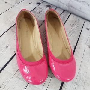 🆕️Bandolino Edition Hot Pink Patten Leather Flat